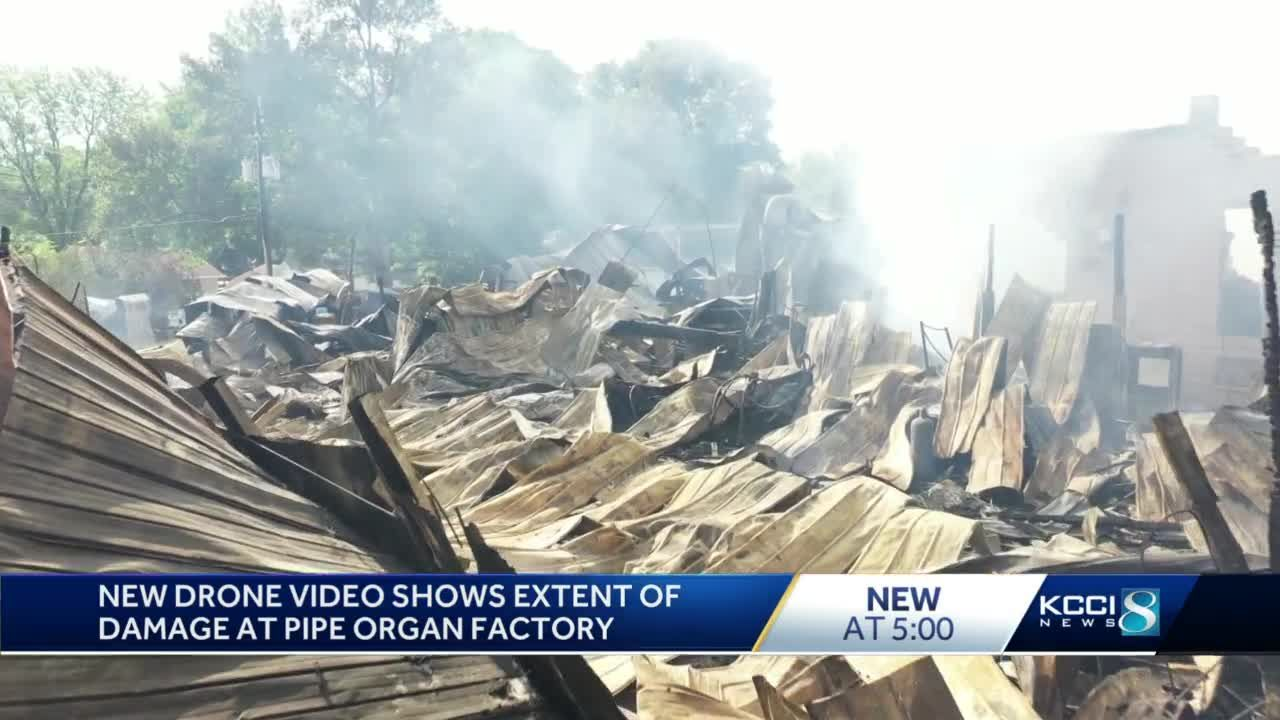 Art in ashes: Dobson Pipe Organ Builders destroyed in fire
