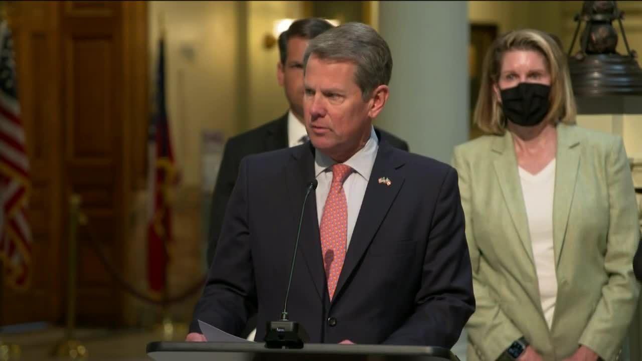 Gov. Kemp signs citizen's arrest legislation in Georgia