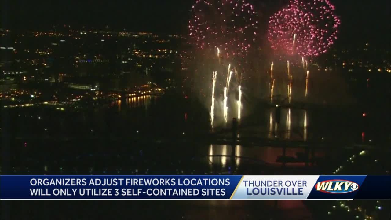 Thunder Over Louisville organizers nix 2 fireworks locations due to concerns over mass gatherings