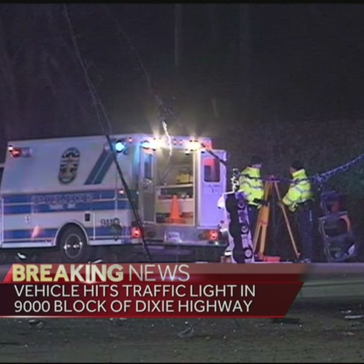 Police on scene of fatal accident on Dixie Highway