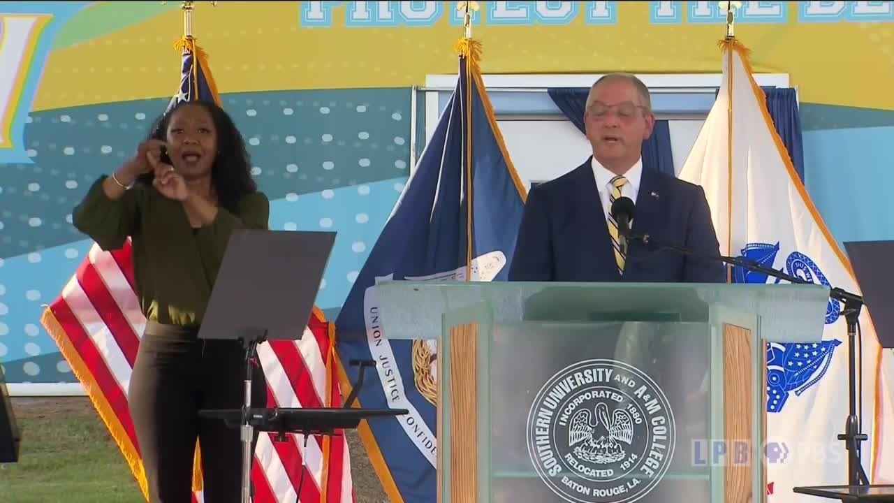 Gov. John Bel Edwards State of the State address