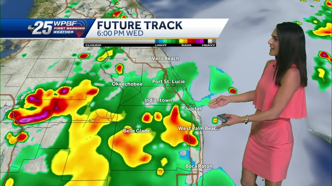 Strong storms, winds, possible hail Wednesday