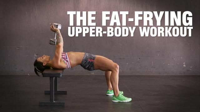 The 3-Move Workout That Burns Fat and Builds Your Upper Body