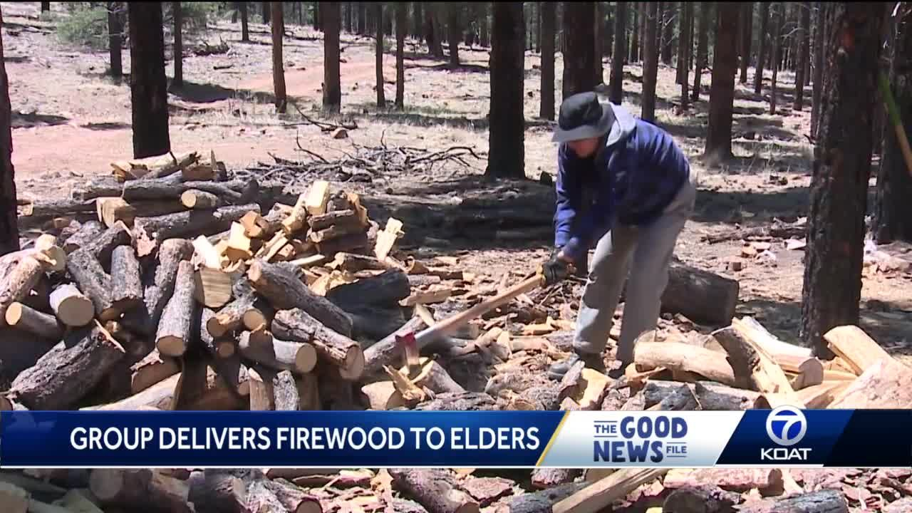 Good News File: Group delivers firewood to elders
