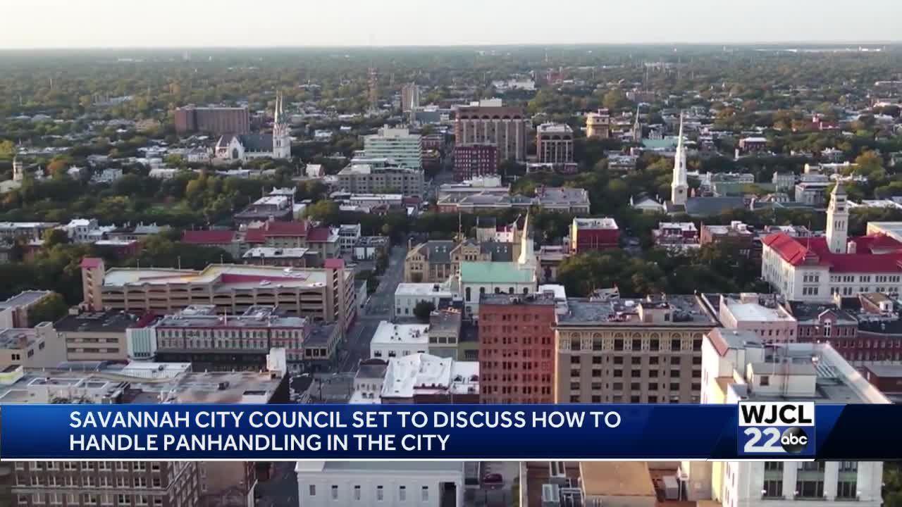 Panhandling concerns in Savannah