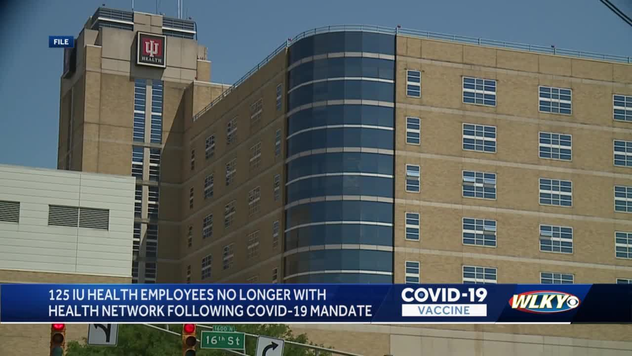 125 employees of Indiana's largest hospital system leave over vaccine mandate