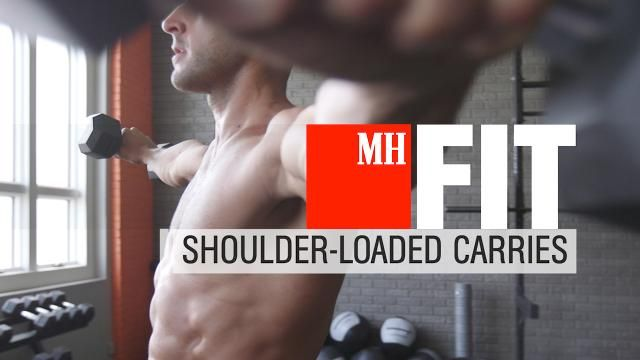 3 Farmer's Carries That Will Help You Build Bigger, Broader Shoulders