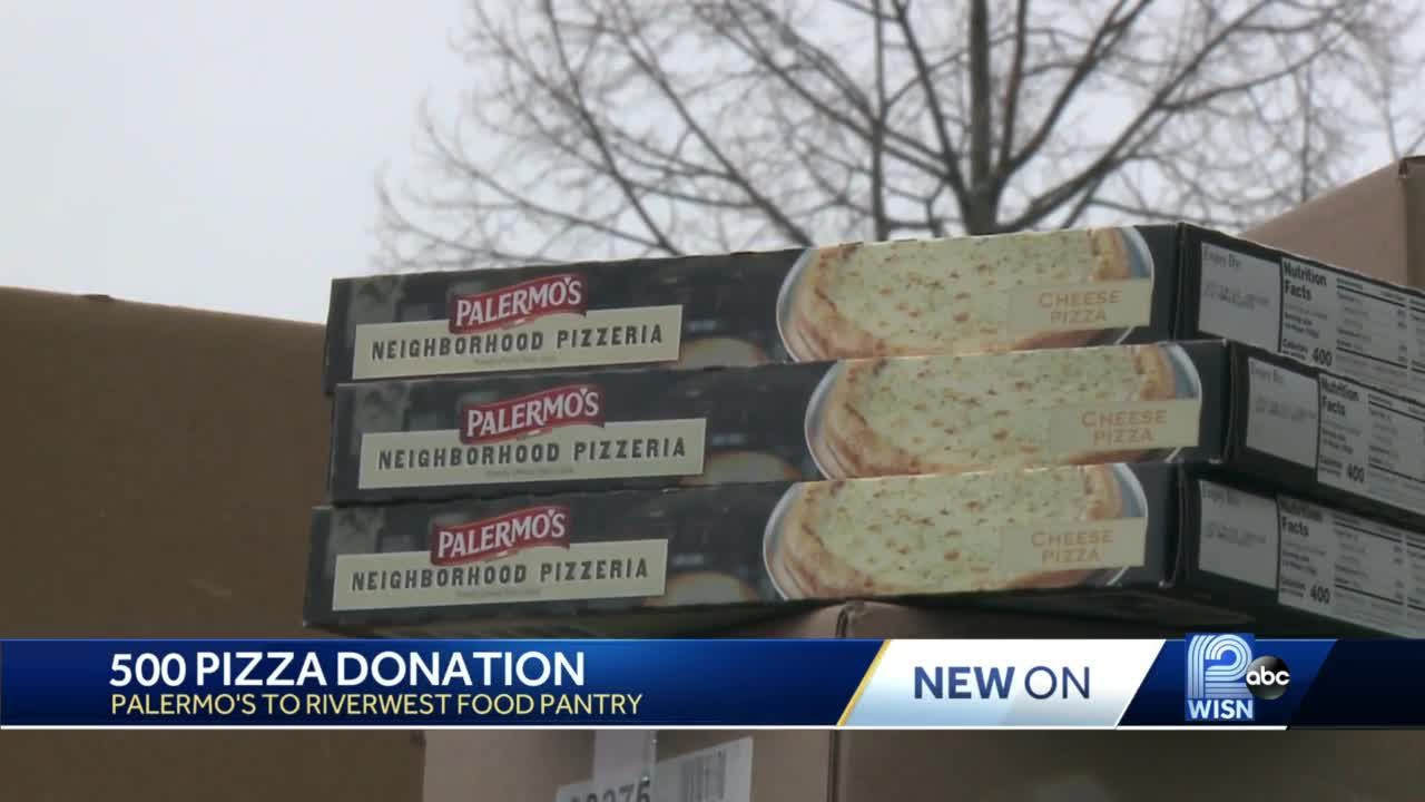 Palermo's donates 500 pizzas to Riverwest Food Pantry