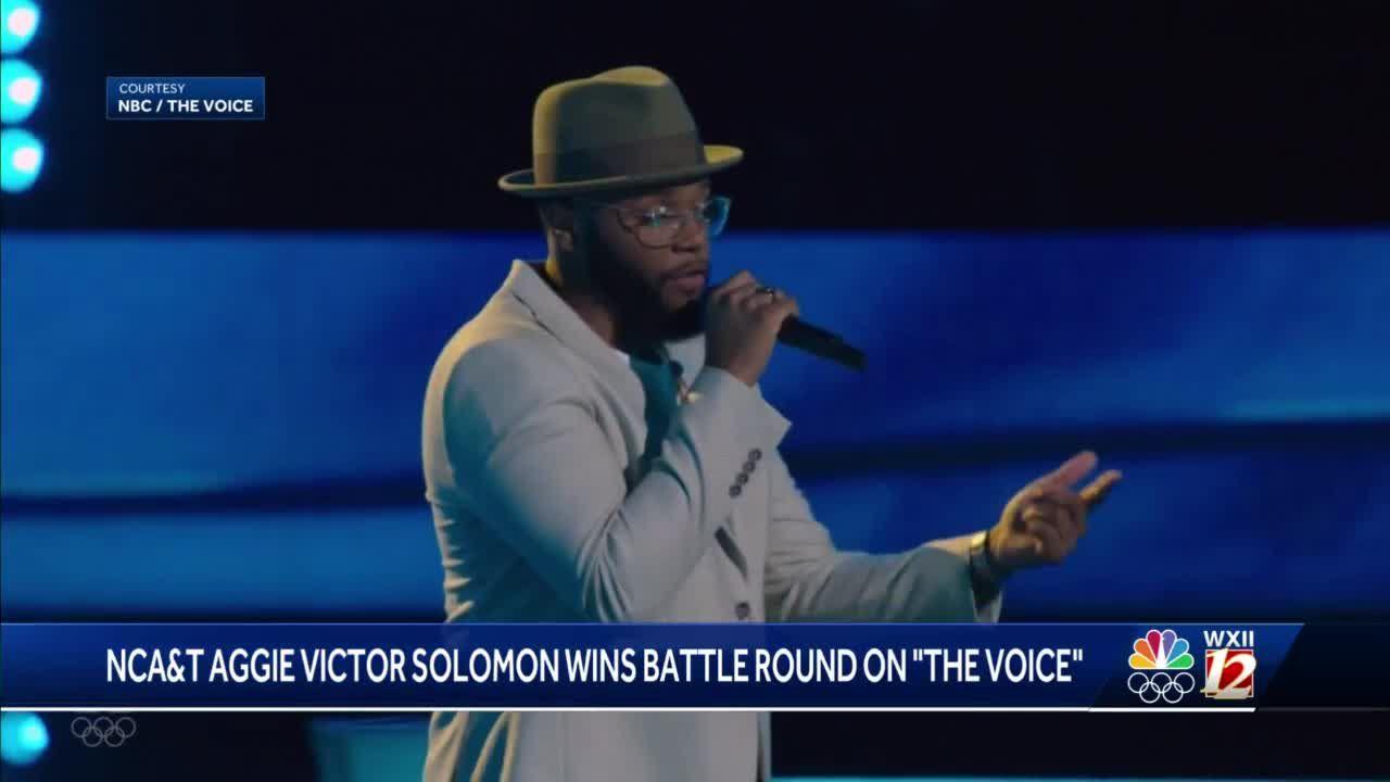 NC A&T senior on 'The Voice' advances to next round