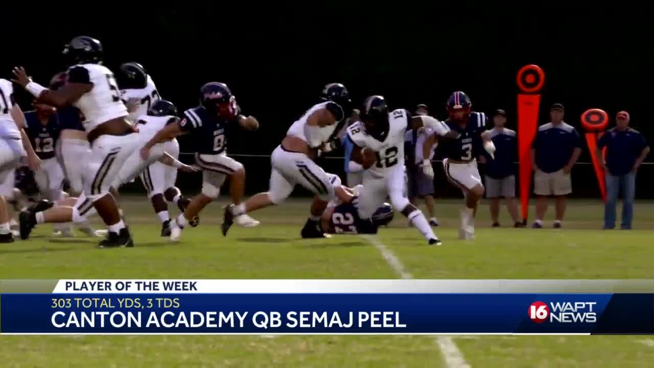 Player of the Week: Semaj Peel Canton Academy