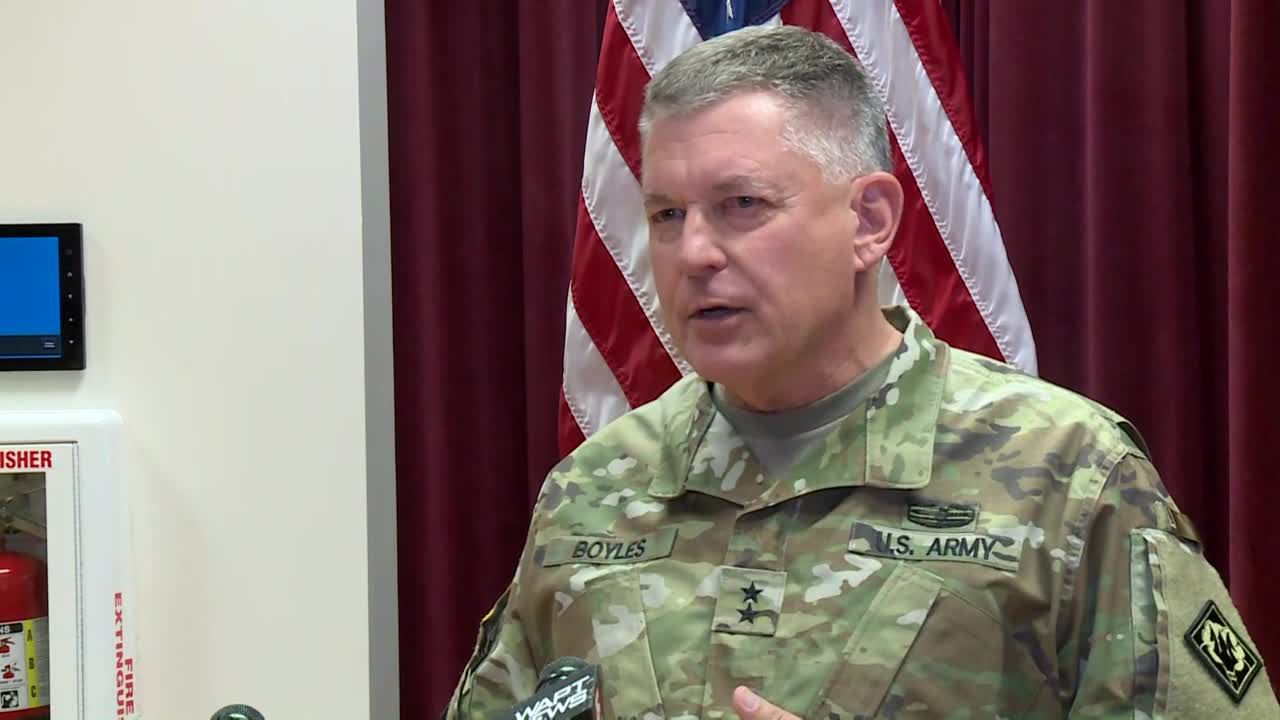 Mississippi National Guard troops deploy to Washington