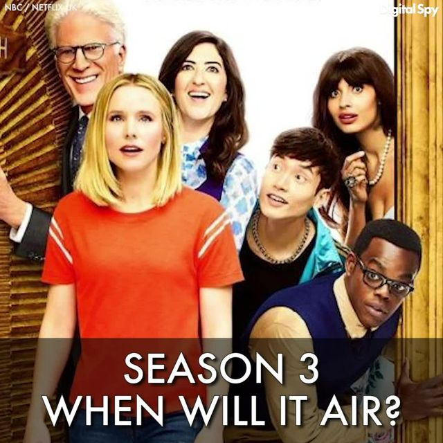 The Good Place season 3 renewal - release date, episodes, cast, plot