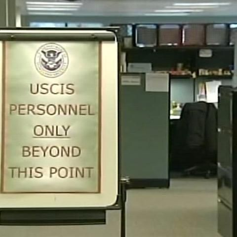 Inside U S  Citizenship and Immigration Services in St  Albans