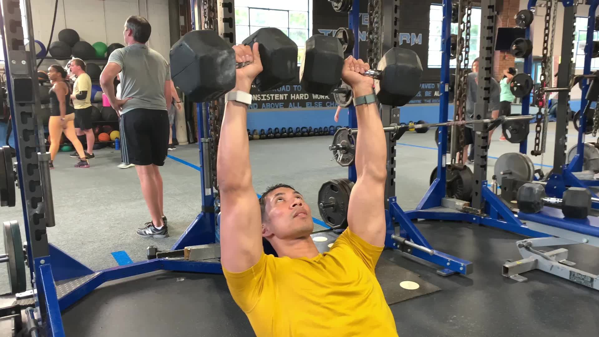 This Incline Dumbbell Press Series Takes You to Hell and Back