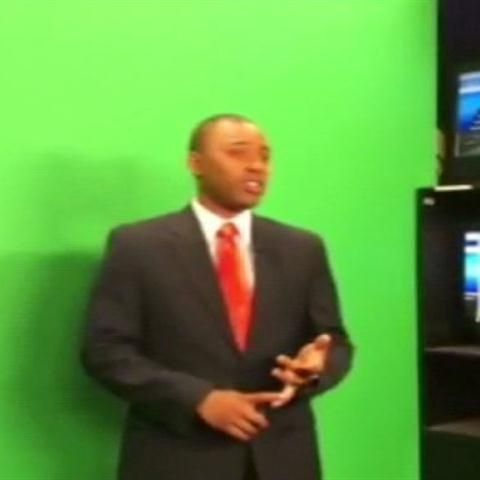 Behind the Scenes of Weather Watch 4's Green Screen