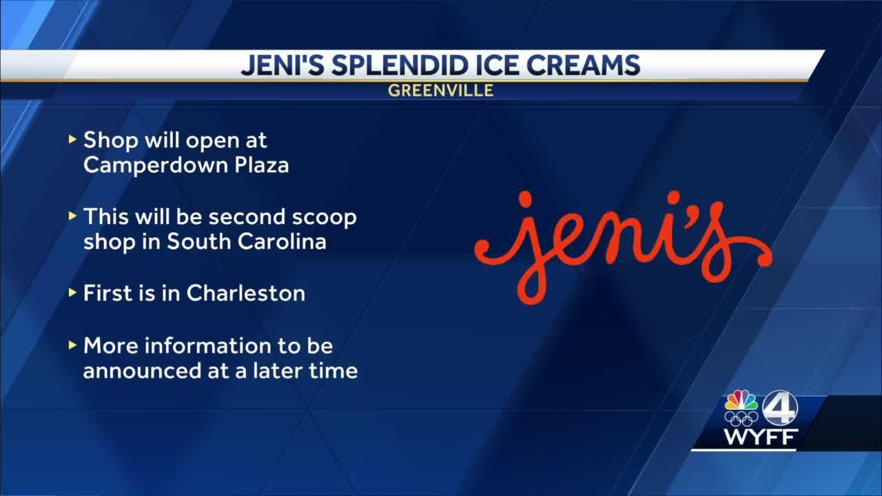 Sweet summer surprise! 🍦 Jeni's Splendid Ice Cream coming to Greenville
