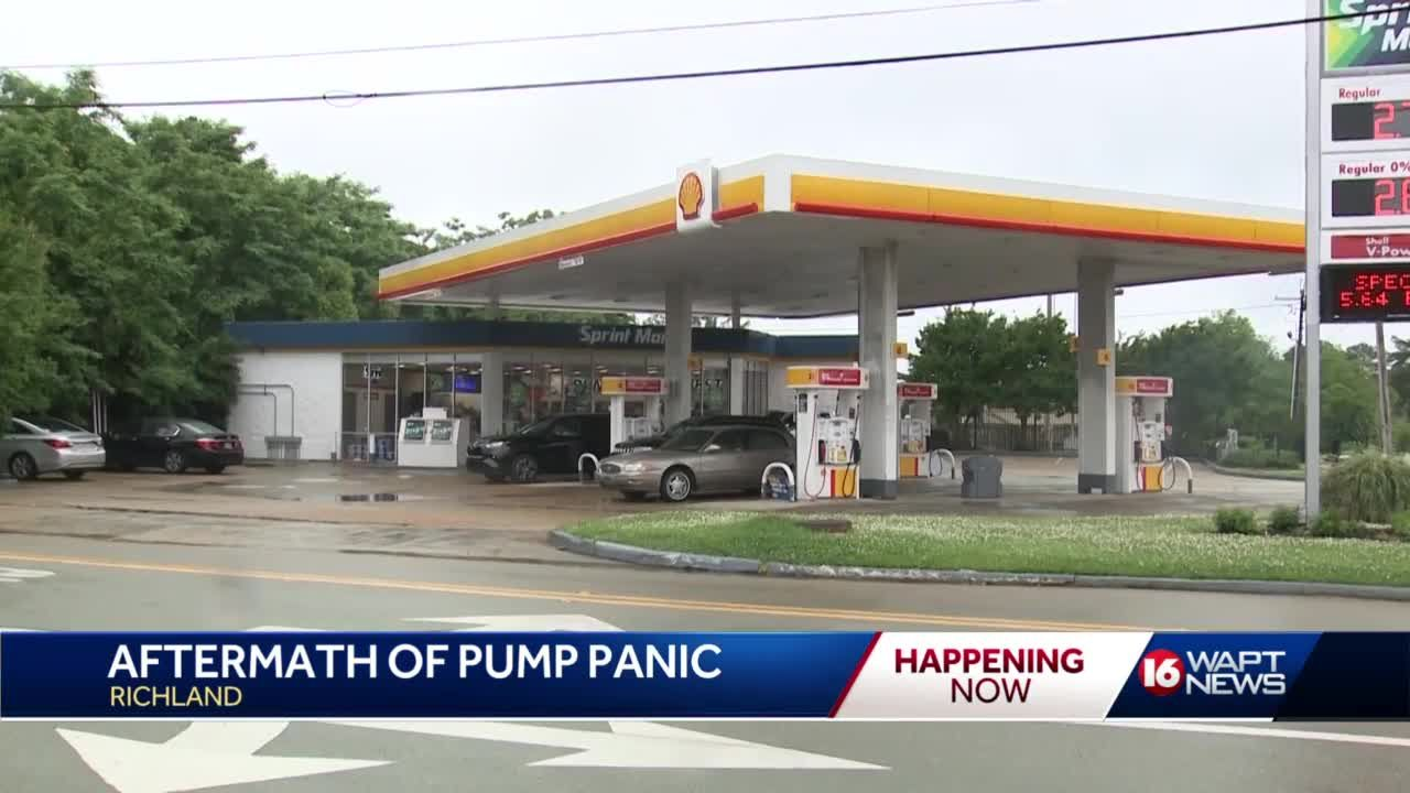 Gas stations await resuply