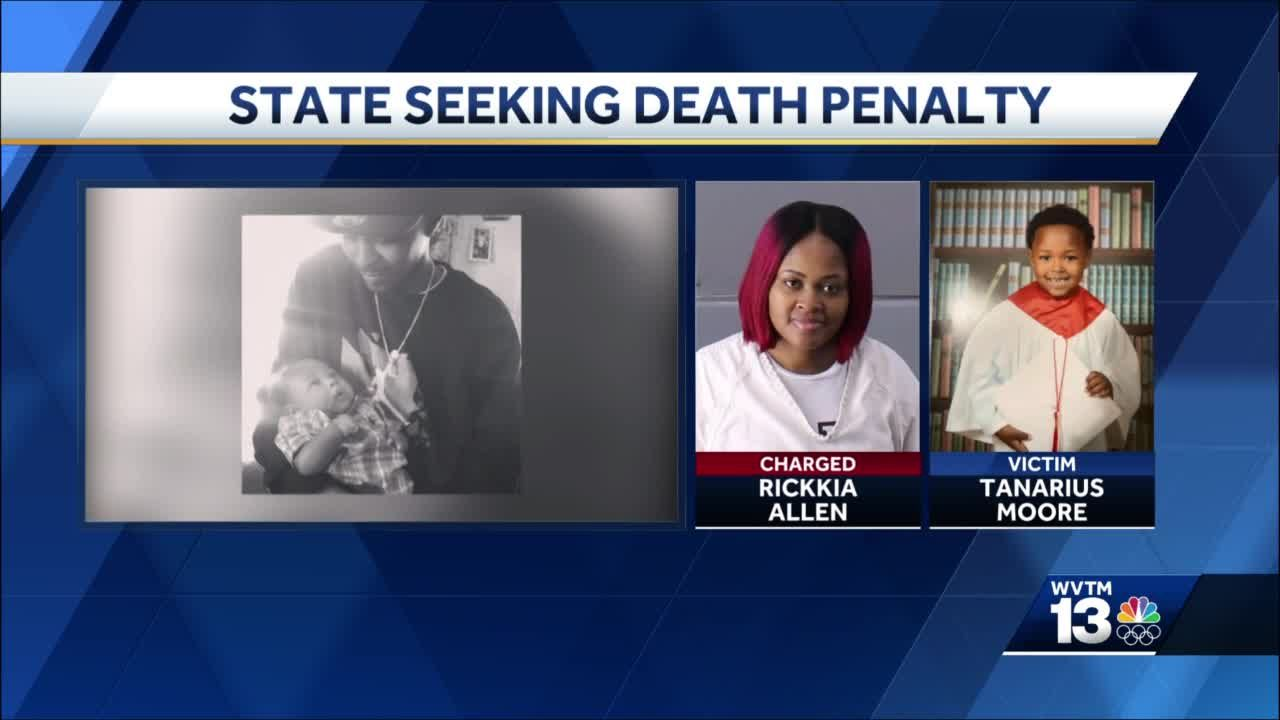 "Alabama seeking death penalty in killing of 5-year-old Ta'Narius ""TJ"" Moore"