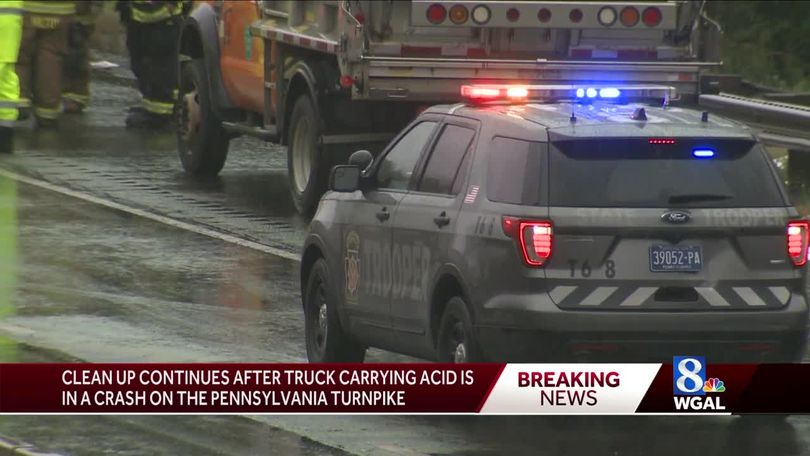 UPDATE: PA Turnpike reopens after two-vehicle crash