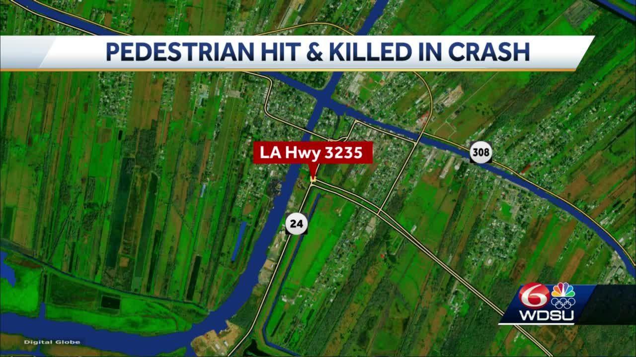 Galliano man struck, killed in Lafourche Parish
