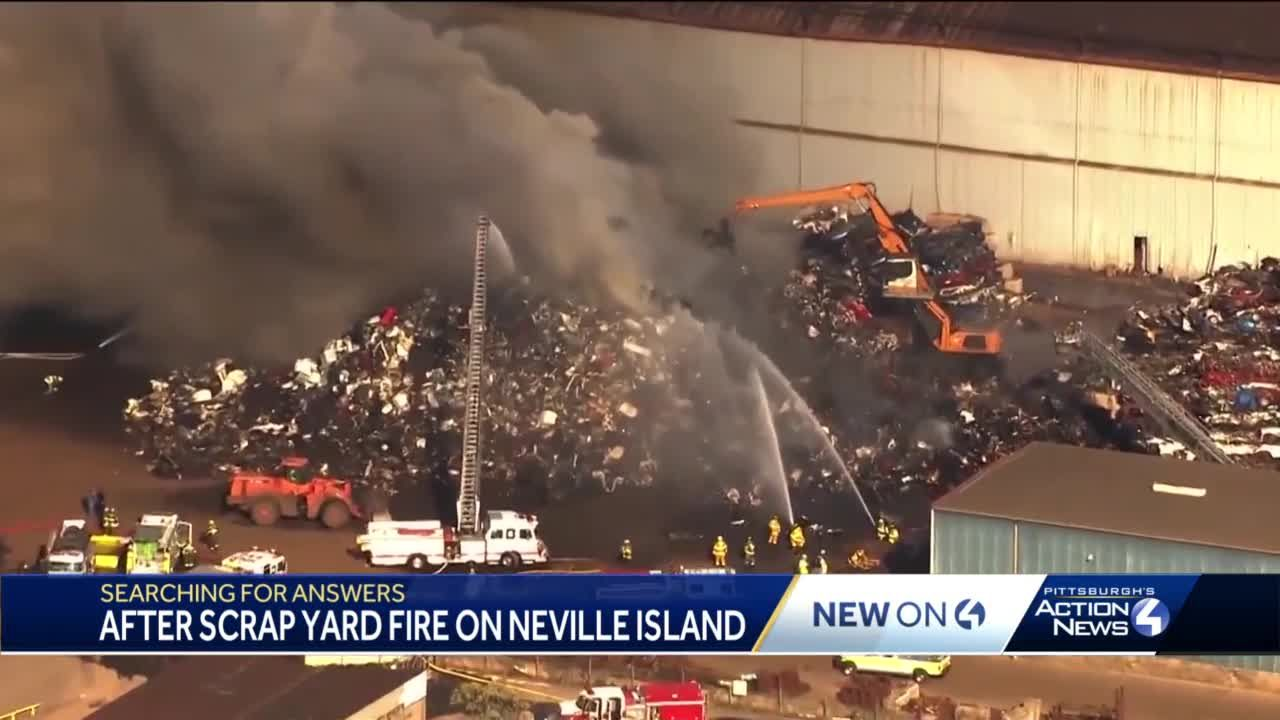 Emsworth residents calling for change following scrap yard fire in Neville Island
