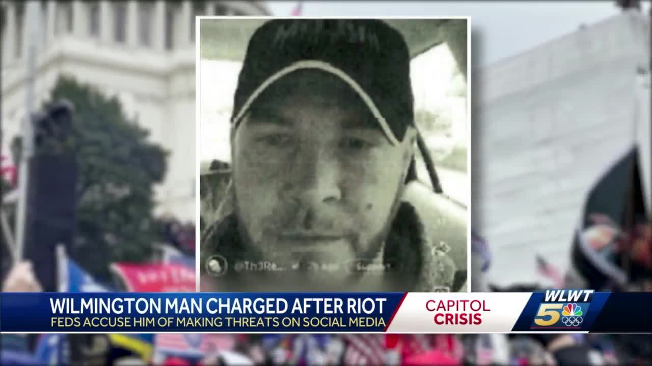 Capitol riot investigation: Clinton County man charged with online threats, witness tampering