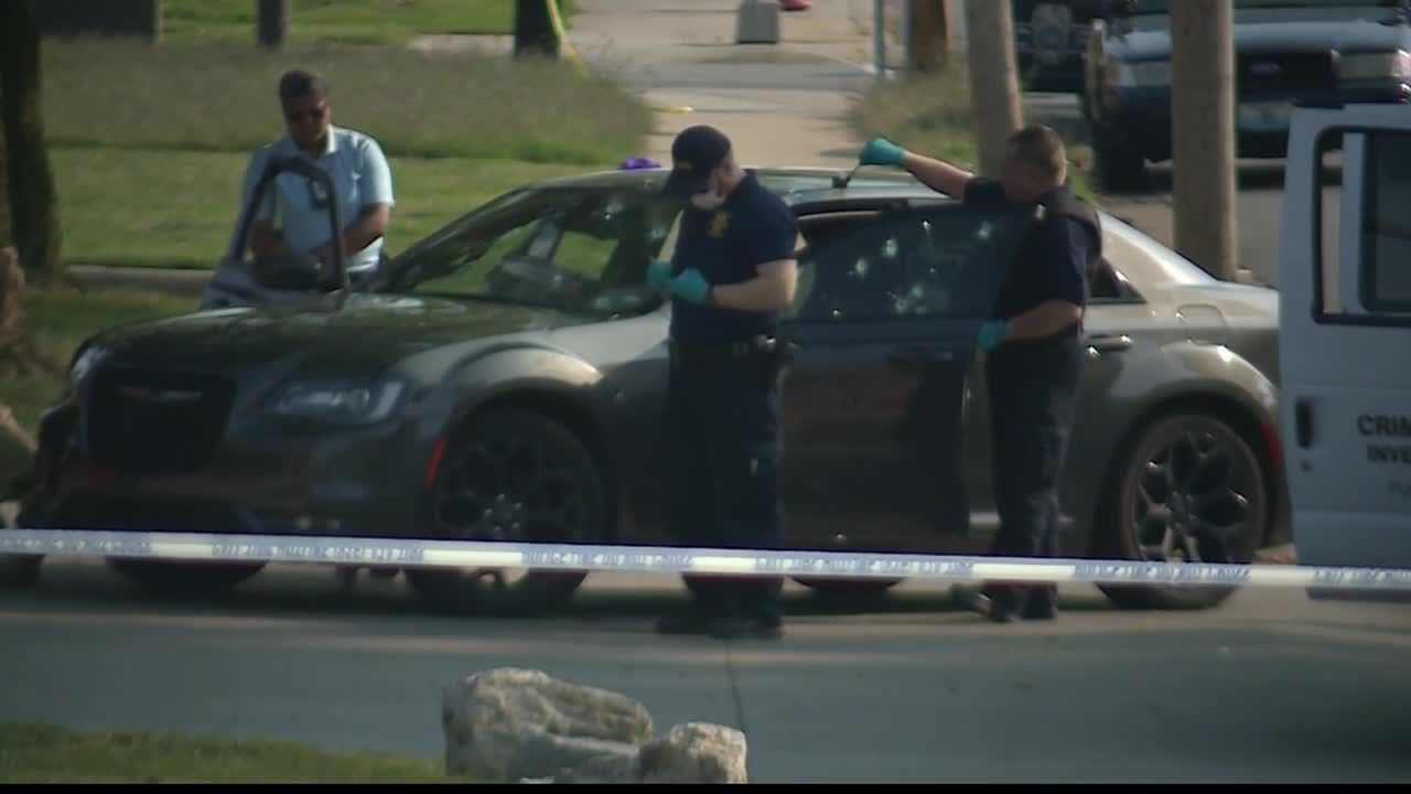 Boy dies, 2 adults wounded after shots fired into car
