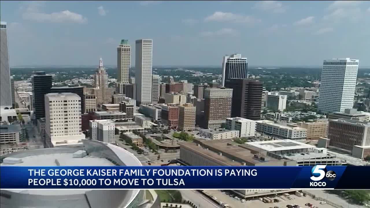 Foundation will pay you $10,000 to move to Tulsa