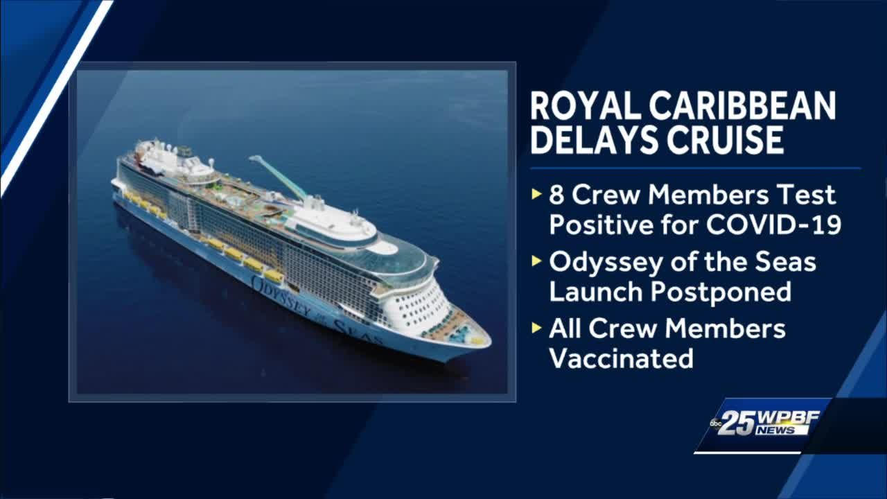 Cruise ship voyage from Florida delayed after 8 crew members test positive for COVID-19