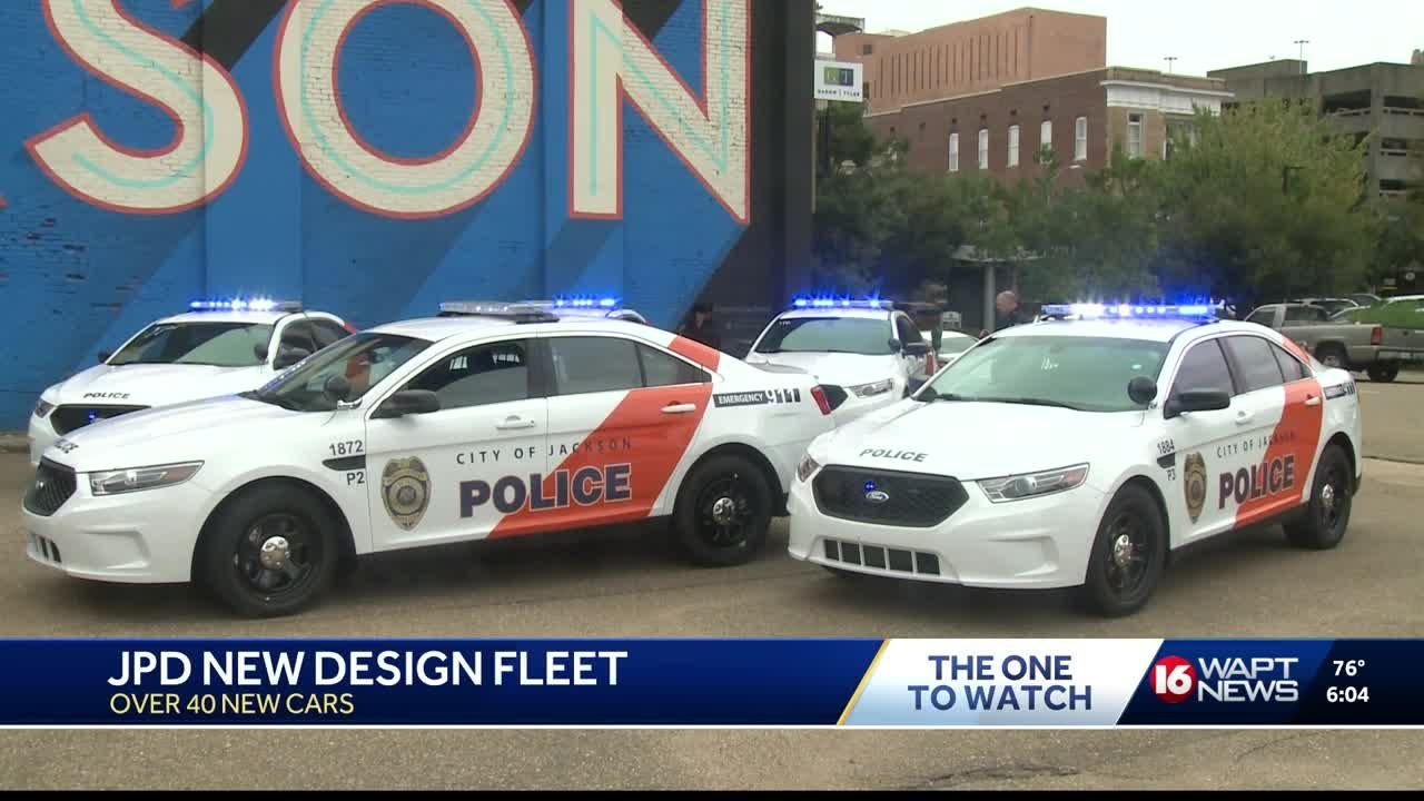 JPD shows off new police cars