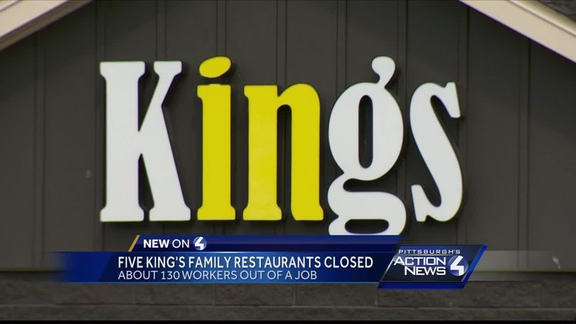 Kings Family Restaurants Suddenly Closes 5 Locations