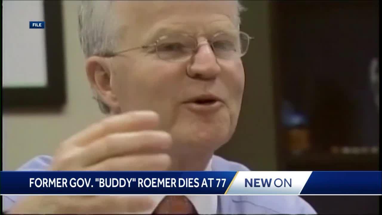 "Former Gov. ""Buddy"" Roemer dies at 77"