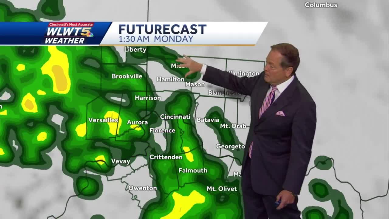 Mainly Dry Weekend, Then Rain