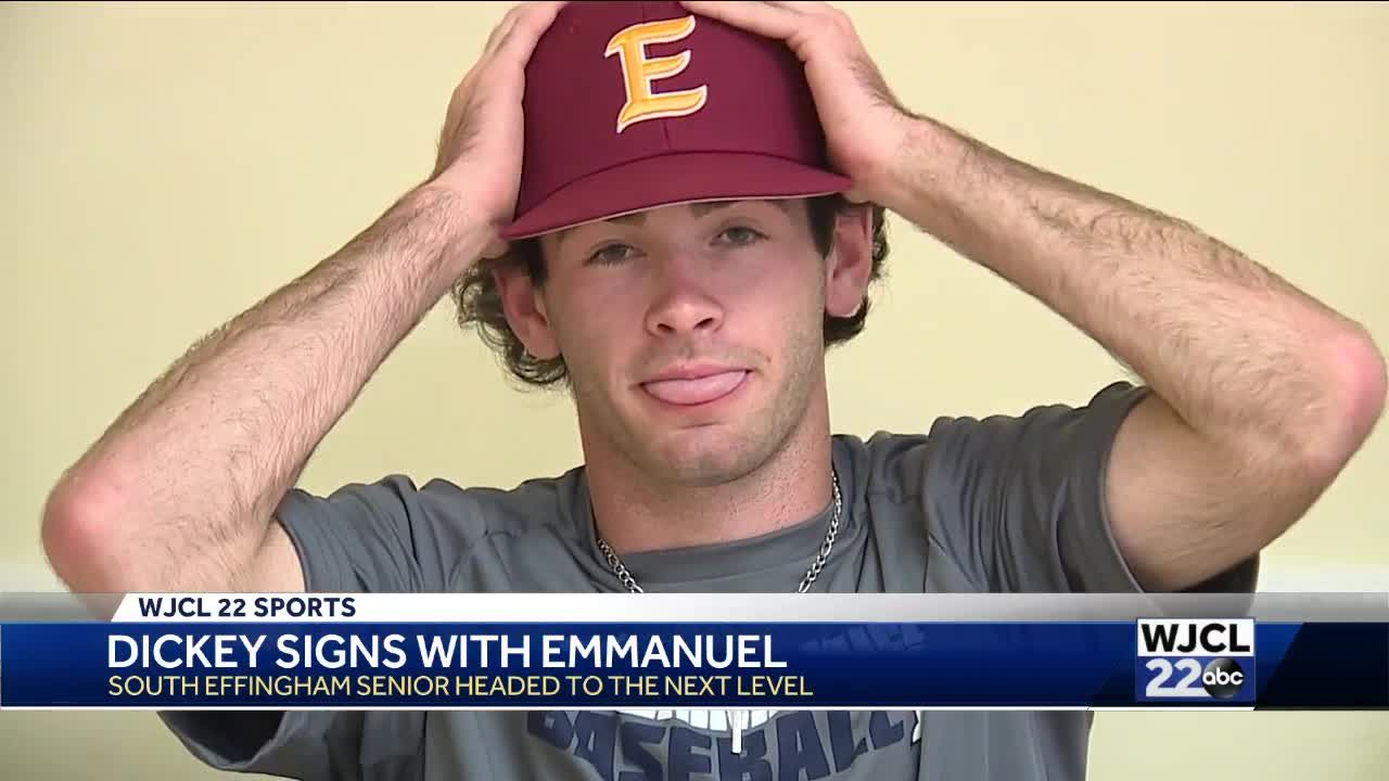 Dickey signs with Emmanuel College