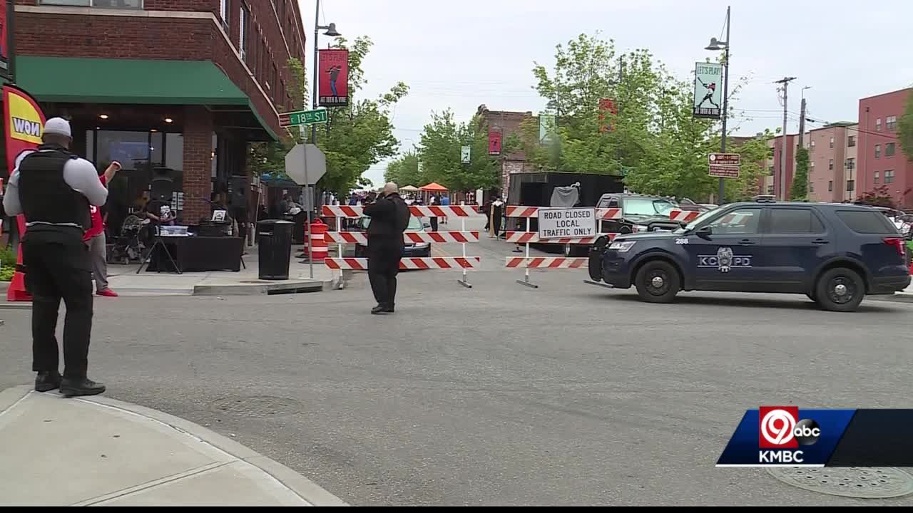 New security measures in place at 18th & Vine District for First Fridays