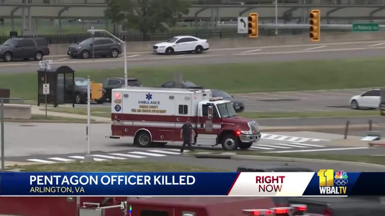Officer, suspect dead after burst of violence outside Pentagon