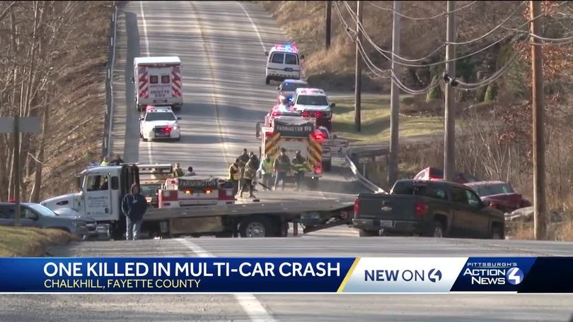 Coroner called to crash on Route 40 in Fayette County