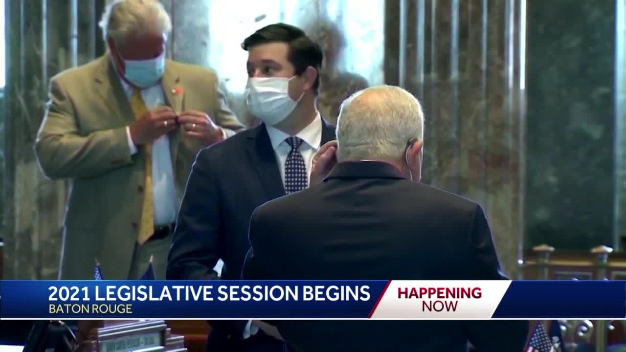 Louisiana's latest legislative session moves past pandemic