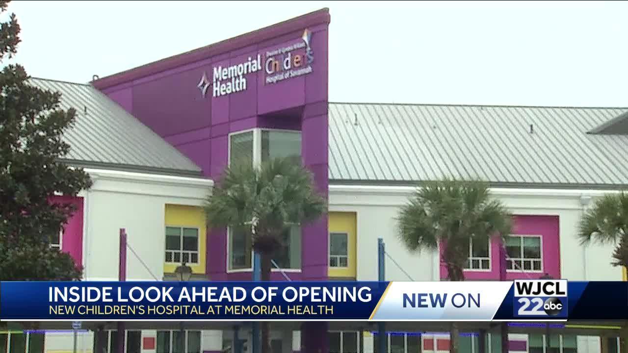 Memorial Health's new Children's Hospital