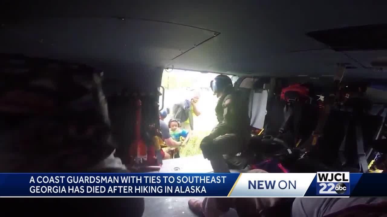 Coast guardsman dies in Alaska