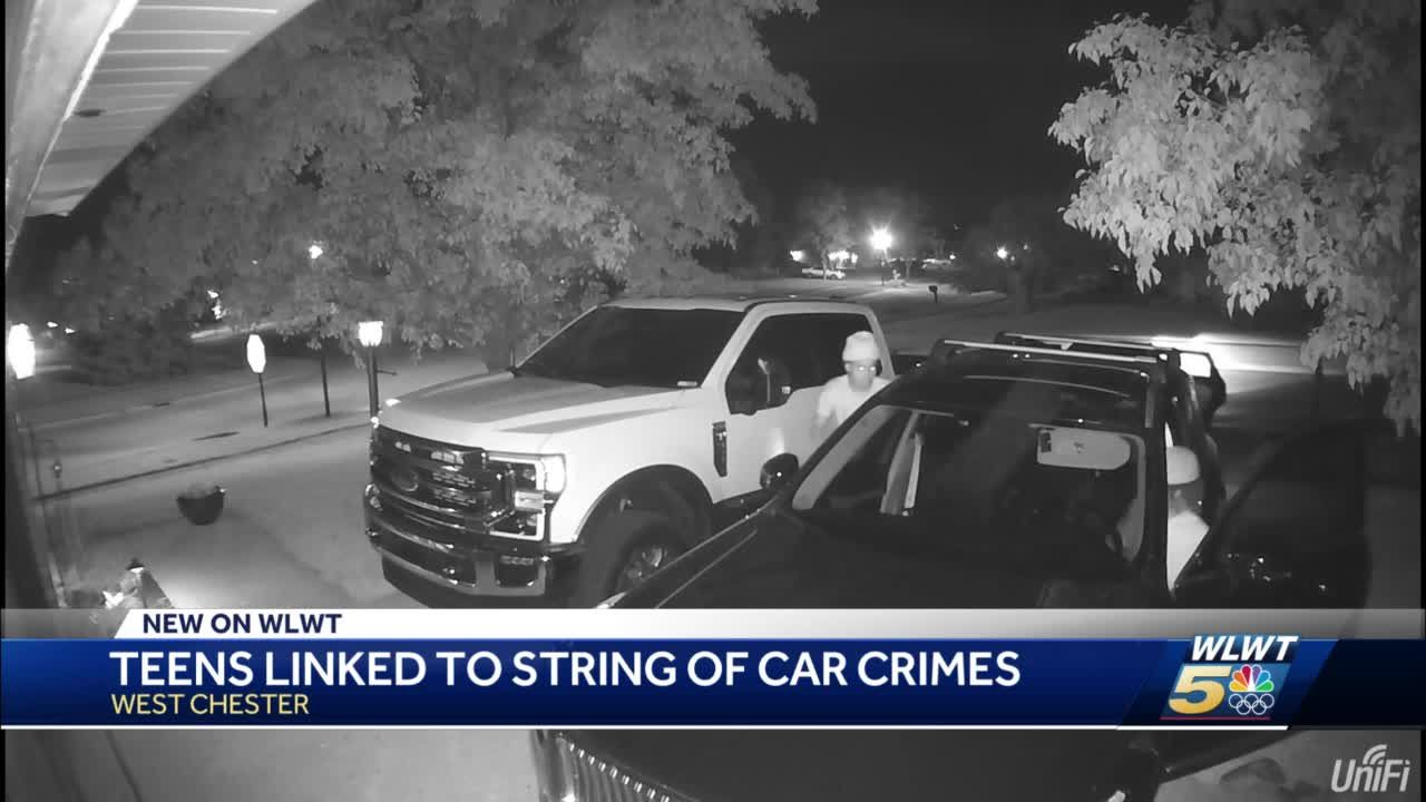 West Chester Police: Teens as young as 13 involved in suburban Cincinnati crime spree