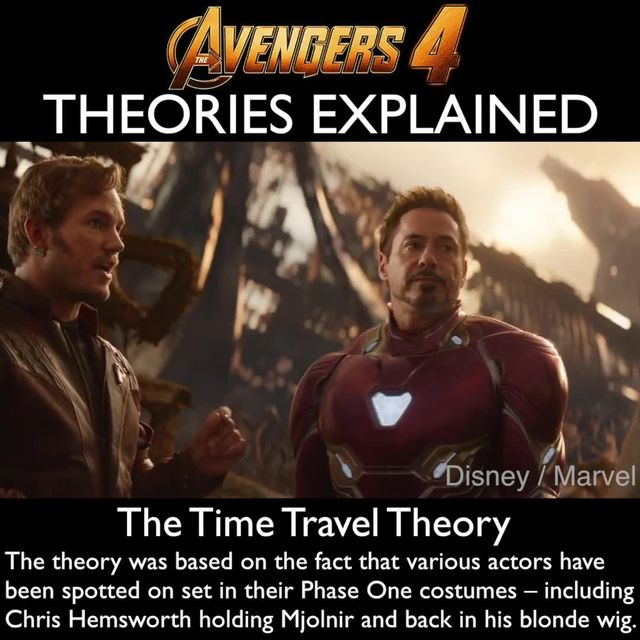 Avengers 4 time travel theory - Avengers 4 will feature time travel