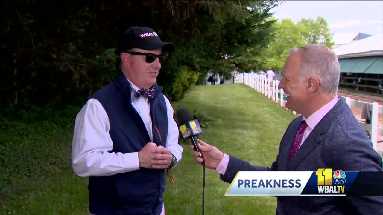Scott Wykoff opens his notebook of Preakness coverage