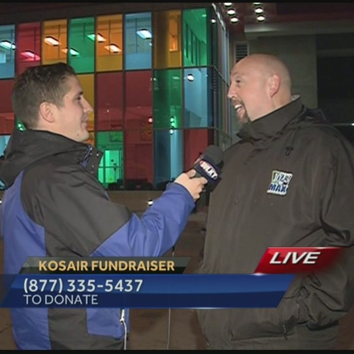 Several radio stations come together to help Kosair