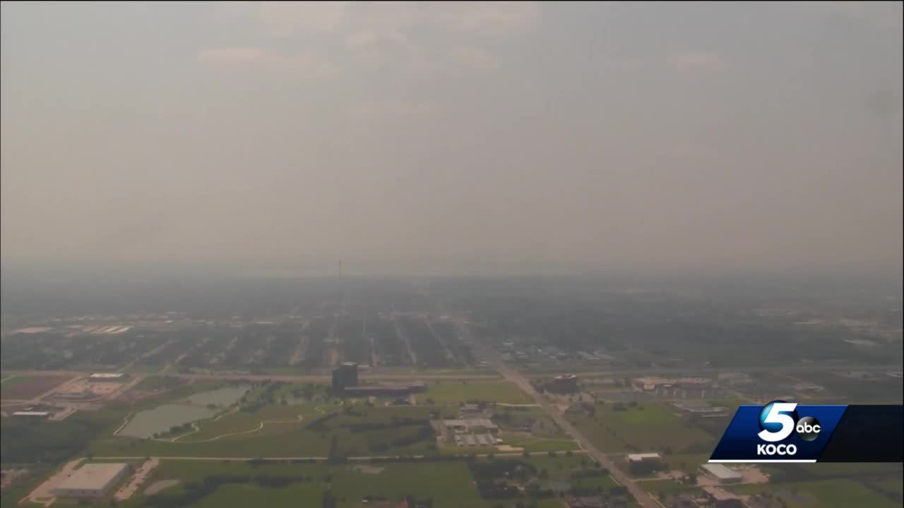 DEQ officials explain what's causing hazy conditions in Oklahoma