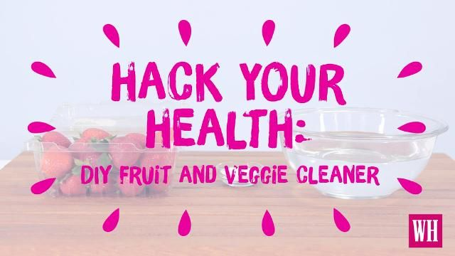 This Simple Trick'll Get Your Fruits and Veggies Squeaky Clean