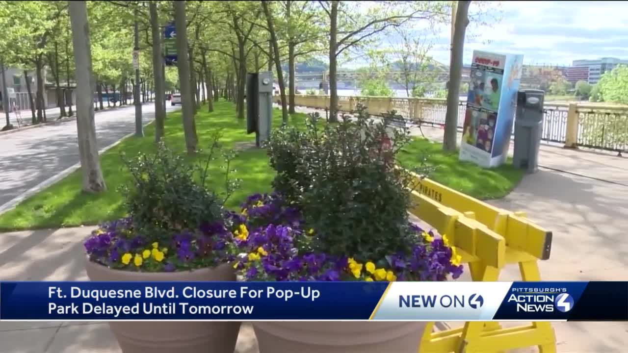Part of Ft. Duquesne Boulevard to close for months starting Tuesday, May 11th