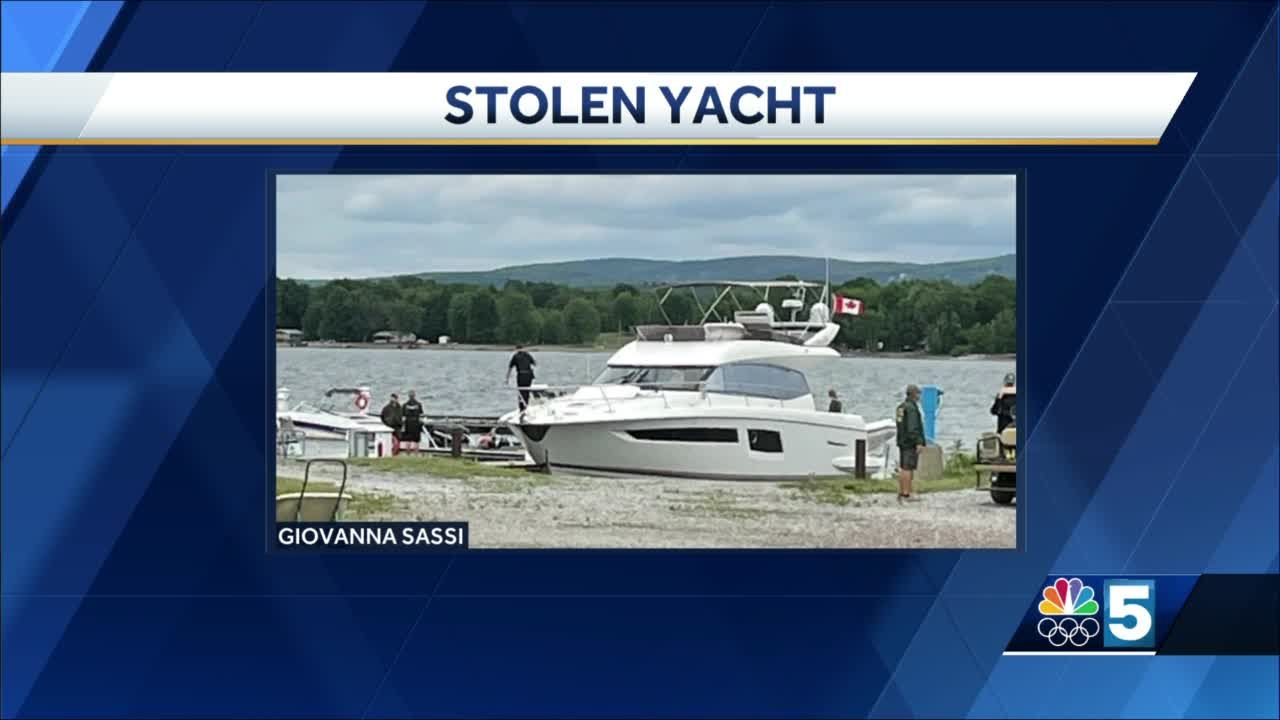 Vermont man accused of stealing yacht valued at $1.2 million