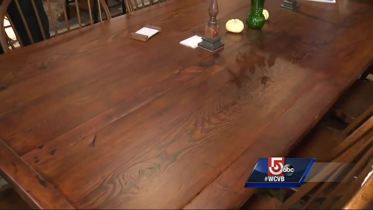 Made In Mass: West Barnstable Tables Handmade Furniture