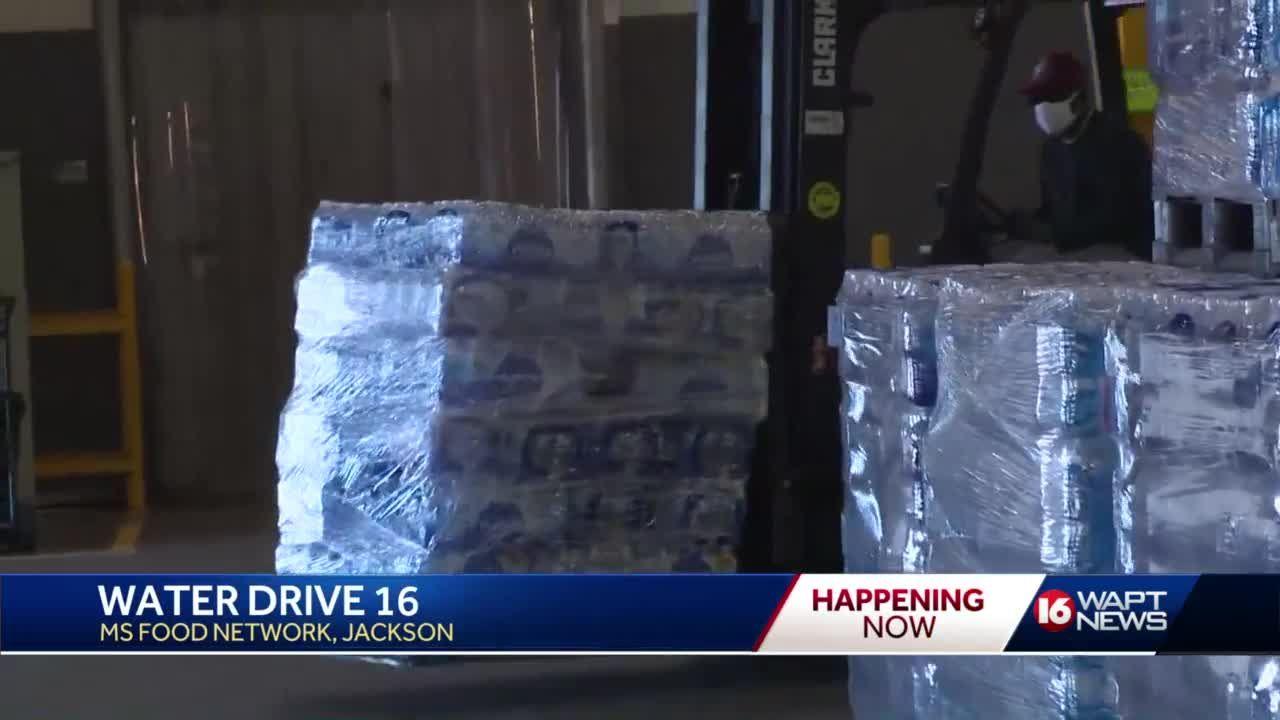 Water Drive 16 nets nearly 1 million bottles of water